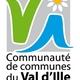 circuit GPS de rando,cheval, Sentier de l'Ille - Saint-Germain-sur-Ille : Logo C C Val d'Ille