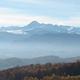 circuit GPS de vtt, Volvestre Tout Terrain  : Chaîne des Pyrénées, vue de Fouc ©Julux Panoramio