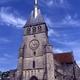 circuit GPS de cyclotourisme, Le circuit du Roi des Vins - Mussy sur Seine : Eglise de Mussy sur Seine