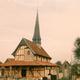 circuit GPS de cyclotourisme, Napoléon et les Eglises à pans de bois - Chavanges : Eglise de Bailly le Franc