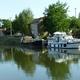 circuit GPS de vtt, Centre VTT FFC en Brionnais - Iguerande - Parcours N°25 : 6_Le canal à Outre-Loire