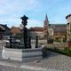 trail GPS : hike,outdoor bike, De Laneffe à Fraire par bois et campagnes : La fontaine sur la place de Fraire