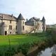trail GPS : hike,outdoor bike, De Laneffe à Fraire par bois et campagnes : Le château ferme de Laneffe