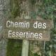 circuit GPS de vtt, Centre VTT FFC Premier Plateau, entre Lacs et Vignobles – Ravaillac - Circuit n°7 : Chemin des Essertines, vous vous en souviendrai...
