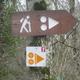 circuit GPS de vtt, Centre VTT FFC Premier Plateau, entre Lacs et Vignobles – Ravaillac - Circuit n°7 : Balisage