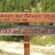 circuit GPS de rando, Lac Vert - Névache : Panneau