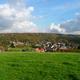 circuit GPS de rando,vtt, De Leernes à Landelies par la Forêt Domaniale et l'Abbaye d'Aulne : Point de vue sur Landelies