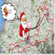 circuit GPS de vtt, Rando de Noël au nord de Brest - Ploumoguer :