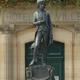 circuit GPS de rando, Promenade Briennoise – Brienne-le-Château : Statue de Bonaparte enfant © Panoramio - Christian PERLOT