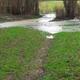 circuit GPS de vtt, Le 8 autour des étangs – Landelles : 500m aprés le départ au bout de l'étang, ça passe en serrant a droite