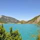 circuit GPS de vtt, Espace VTT - FFC du Verdon et des Vallées de l'Asse - Le tour du Lac de Castillon  n°7 - Castellane : Lac de Castillon © Wikipédia - Alpes de Haute Provence