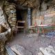 circuit GPS de rando, La Grotte des Émigrés, Falaises Soubeyranes, la Ciotat : La terrasse de la Grotte des Émigrés
