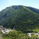 circuit GPS de rando, Les grès d'Annot : Vue sur la vallée depuis la corniche