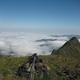 circuit GPS de rando, Le Pic Sanctus par la cabane de Bouleste et le col d'Uzious : Cairn sommital au Pic Sanctus ©Montagne-Cool