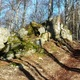 circuit GPS de rando, Ronde boisée des rochers et des ruisseaux - La Verrerie : 3_Le Roc du Palais
