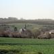 circuit GPS de rando, De la Sabotterie à Jonval : Vue sur Tourteron en fond les plantations de pommiers