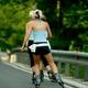 circuit GPS de rando,course à pied,roller, Des Argoulets à la Cité de l'Espace : Roller Girls