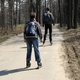 circuit GPS de rando,course à pied,roller, Des Argoulets au Canal du Midi : Roller boys