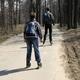 trail GPS : hike,running,roller, Des Argoulets au Canal du Midi : Roller boys