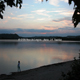 trail GPS : hike,outdoor bike, Circuit of the lake of Vingeanne - Villegusien : Couché de soleil sur le lac de la Vingeanne