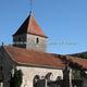 circuit GPS de rando,vtt, L'Ource : Eglise de Villars-Montroyer