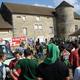 circuit GPS de vtt, Rando VTT Nord Isère 45 km : Arrivée à la ferme des dames