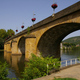 trail GPS : hike, Pasturat - Cahors - Chemin de St-Jacques de Compostelle : Pont Louis Philippe à Cahors  © Les Balades et Randonnées de Fred