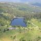 trail GPS : hike, Le lac Vert et le lac des Truites : Le lac des Truites dans le cirque glaciaire du Forlet