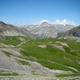 circuit GPS de rando, Circuit du Ténibre - Jour 1 - Du Pra à Ferrières : Vue vers l'Italie depuis le col de Pouriac
