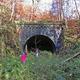 circuit GPS de rando, Entre Soucht et Rosteig, sur les traces du Ziggel  : Entrée du tunnel côté Rosteig