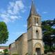 circuit GPS de rando,vtt, Le sentier de l'Aigle Botté – Viozan : Eglise de Viozan © Louis ZOCCA - clochers.org