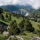 circuit GPS de rando, Traversée des Rochers du Parquet 2024 m, depuis Richardière : Sur la crête des Rochers du Parquet