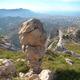 circuit GPS de rando, La Panouse via le Mont-Saint-Cyr - Marseille  : En redescendant