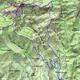 circuit GPS de rando, Le pilon du Roi par les crêtes - Allauchs :