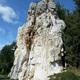 circuit GPS de rando, Entre falaises et coteaux de l'Anglin - Mérigny : Le rocher de la Dube © Floppy36 - Wikipédia