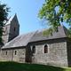 circuit GPS de rando,vtt,cheval, La boucle mallouine – Bures-les-Monts : Église Notre-Dame de Malloué © S. Plaine - Wikipédia