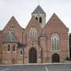 circuit GPS de cyclotourisme, Guldenbergfietsroute - Wevelgem  : L'église de Moorsele © LimoWreck - Wikipédia