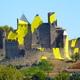 circuit GPS de cyclotourisme, Foix Palma de Mallorca étape 1 Foix Carcassonne : La Cité de Carcassonne