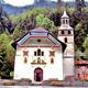 circuit GPS de rando, Bois de la Duchère - Les Contamines-Montjoie : Eglise de Notre-Dame-de-la Gorge © Espirat - Wikipédia