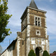 circuit GPS de rando, Circuit du Boutois – Villeneuve-au-Chemin     : Eglise de villeneuve-au-chemin © Michel FOUCHER - clochers.org