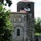 circuit GPS de vtt,cyclotourisme, A vélo pour Mozac-St_Beauzire - Clermont Glaciere    : Abbaye de Mozac © Christophe Ravier - Wikipédia
