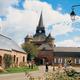 circuit GPS de rando, Le chemin de la brique et du torchis : Eglise Parfondeval