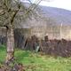 circuit GPS de vtt, Espace VTT FFC Vallées de Meuse et Semoy - Circuit n°19 - La Vallée de Morhon : Haybes_ancienne_clôture_en_ardoises Wikipedia