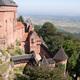 circuit GPS de vtt, Châtenois: Haut mon Château : Château du Haut-Koenigsbourg, vue de l'une des tours -  Photo  Julien Gascard