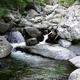circuit GPS de rando, GR 20® de la cascade des Anglais à Bocca Palmente par Foce di Vizzavona  : Cascade des Anglais