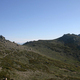 circuit GPS de rando, GR 20® du refuge de Prati au refuge d'Usciolu  : Les Crêtes au dessus d'Usciolu