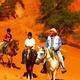 circuit GPS de vtt,cheval, De Céreste à Saint Martin de Castillon : Le Colorado Provençal, les ocres