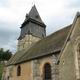 circuit GPS de cyclotourisme, Boucle des mottes féodales  -  Montreuil-l'Argillé : Eglise de Montreuil l'Argillé © Flickr - philevreux27