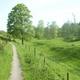 trail GPS : hike, Ecaussinnes et le Val de la Sennette : Le Val de la Sennette