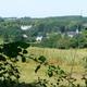 circuit GPS de rando,vtt, De Wierde à Faulx-les-Tombes par le Mont-Sainte-Marie : Vue sur le village de Mozet